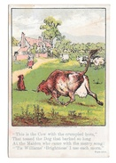 Victorian Trade Card D.W. Williams Soaps For Toilet And Families Cow And Dog Glastonbury CT - Advertising