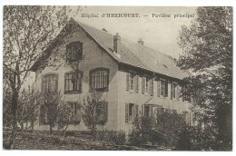 CPA HOPITAL D'HERICOURT / PAVILLON PRINCIPAL / HAUTE SAONE - Francia