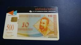 Bosnia I Hercegovine-(500 Impulsa)-used Card+1card Prepiad Free - Timbres & Monnaies