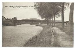 CPA PORT D'ATELIER / LE PONT DE PURGEROT /  HAUTE SAONE - Autres Communes