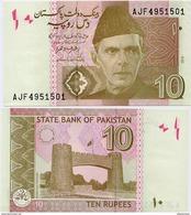 PAKISTAN        10 Rupees        P-45k         2016        UNC  [sign. Ashraf M. Wathra] - Pakistan