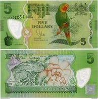 FIJI        5 Dollars       P-115a       ND (2013)       UNC - Figi
