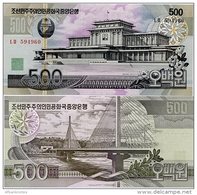 NORTH KOREA       500 Won      P-44[b]    J. 96 / 2007   UNC - Corea Del Nord