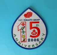 CANADA SCOUTS - 11th TORONTO GROUP 2006. Patch Scouting Boy Scout Scoutisme Escrutinio Pfadfinder Scoutismo Padvinder - Scouting