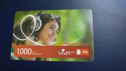 Armenia-mts-viva Card Prepiad-(1.000units)-1/1/2015-used Card - Armenië