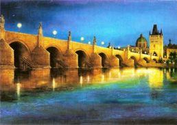 CPH 8(1) Czech Republic Charles Bridge, Prague 2008  Mucha Motif - Bridges