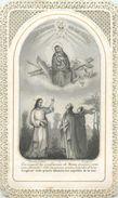 IMAGE Pieuse Par Bonamy Poitiers Canivet Méca. 2scans - Images Religieuses