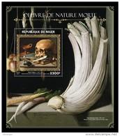 NIGER 2016 - Still-life, Skull S/S. Official Issue - Medicina