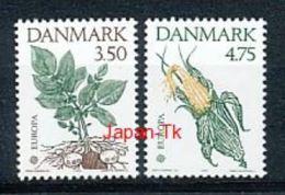 DÄNEMARK Mi. Nr. 1025-1026 Europa - 500. Jahrestag Der Entdeckung Von Amerika - 1992 -MNH - 1992
