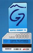 (2Eu) USATA °- NAPOLI - SUMMIT ( G7 ) - C&C. 2376 - Mn - .  Vedi Descrizione - Italy