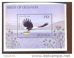 UGANDA SCOTT MINT N H # 578 ( BIRDS - Uganda (1962-...)