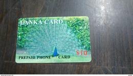 Sri Lanka-pavo Real-prepiad Phone Card-($10)-used Card - Phonecards
