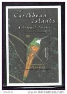 DOMINICA    2316  MINT NEVER HINGED SOUVENIR SHEET OF BIRDS - Oiseaux