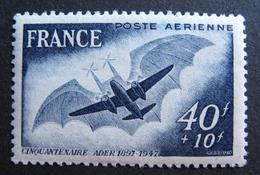 LOT 876 - 1948 - POSTE AERIENNE - L'AVION ADER - N°23 - NEUF** - Poste Aérienne