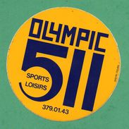 OLYMPIC 511 SPORTS LOISIRS / AUTOCOLLANT - Autocollants