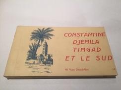Boekje Met 40 Postkaarten Algerije Constantine Djemila Timgad  A7398 - Constantine