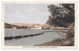 13 - ROGNES - Bassin De Saint Christophe - Ed. A. Tardy Colorisée - 1950 - France