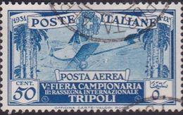Italy-Colonies And Territories-Libya AP 3 1931 5th Tripoli Fair,used - Libya