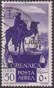 Italy-Colonies And Territories-Libya AP 27  1936 Overprinted ,mint Hinged - Libya