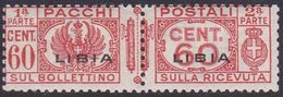 Italy-Colonies And Territories-Libya PP 18 1927-37 Parcel Post,60c Red,mint Never Hinged - Libya