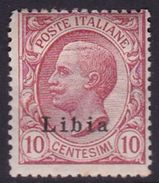 Italy-Colonies And Territories-Libya S 4 1912-15 ,10c Pink, Mint Hinged - Libya