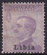 Italy-Colonies And Territories-Libya S 9 1912-15 ,50c Violet,Mint Hinged - Libya