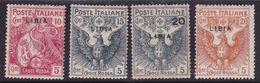Italy-Colonies And Territories-Libya S 13-16, 1915-16 ,Red Cros ,Mint Hinged - Libya