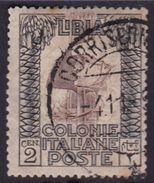 Italy-Colonies And Territories-Libya S 22 1921 ,Pictorials, 2c Roman Legionary,used - Libya