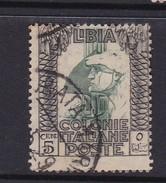 Italy-Colonies And Territories-Libya S 23 1921 ,Pictorials, 5c Roman Legionary,used - Libya