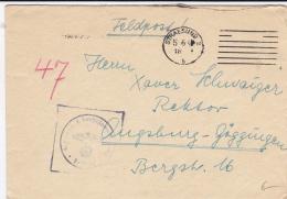 Feldpost WW2: 2./7. Schiffstammabteilung In Stralsund P/m 5.6.1941 - Cover Only (DD3-38) - Militaria