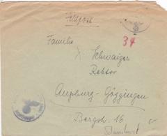 "Feldpost WW2: The Battleship Schlachtschiff ""Scharnhorst"" FP M23657 (2. Flakdivision) With Faint Postmark - Cover Only(D - Militaria"
