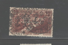 "FRANCE PERFINS ""D.M.C."" 1929 - 1933 #254A USED $35.00 - Perforés"