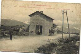 Les Pyrénées Orientales LE CAPCIR  Maison Cantonnière De La Quillane Près Le Col De Casteillon Attelage RV - Autres Communes
