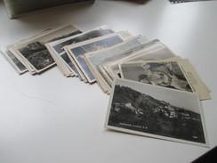 43 AK / Glückwunsch / Landschaft / Orte Usw. Österreich / DR / Ostmark 1939 - 43 Frankaturen Des Deutschen Reiches!! - Ansichtskarten