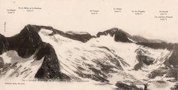 Hautes Pyrenées - Panorama Pris Du Pic D' EROUEIL - Monts Maudits - Ohne Zuordnung