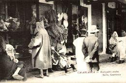 MAROC  CASABLANCA BOUTIQUIERS ARABES MAILLE CASABLANCA - Casablanca
