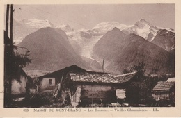 17 / 8 / 202  -  - MASSIF  DU  MONT BLANC  - LES  BOSSONS  -  VIEILLES  CHAUMIÈRES - Chamonix-Mont-Blanc