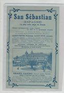 Publicité  San Sebastian Grand Casino - Werbung
