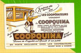 BUVARD & Blotting Paper : Les Cooperateurs Vendent COOPQUINA - Liqueur & Bière