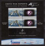 Costa Rica 2007.Exports.Space/Spacecraft.PLASMA TECHNOLOGY,M/S. MNH - Costa Rica