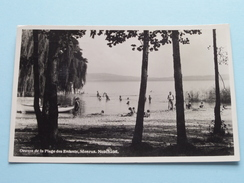 Oeuvre De La Plage Des Enfants MONRUZ ( Gorbellari ?) Anno 1933 ( Zie/voir Foto Details ) ! - NE Neuchâtel