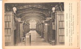 POSTAL    BODLEIAN LIBRARY EN OXFORD - Postales