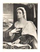 POSTAL    MUSEO DE ARTE DE  BARCELONA-RETRATO DE UNA DAMA -FRA SEBASTIANO LUCIANI DEL PIOMBO (1485-1547) - Museos