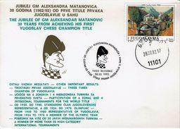 Schaken Schach Chess Ajedrez - Joegoslavie Jugoslawien Yugoslavia - Beograd 1992 - Matanovica - Echecs