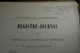 Lot De Vieux Documents Sur Gembes Et Graide (Gedinne) De 1881 à 1924 - Historische Dokumente