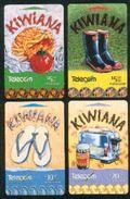 New Zealand - 1999 Kiwiana Set (4) - NZ-G-198/201 - Very Fine Used - Neuseeland