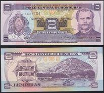 Honduras DEALER LOT ( 10 Pcs ) P 80A - 2 Lempiras 26.8.2004 - UNC - Honduras