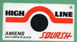 HIGH LINE SQUASH AMIENS  / AUTOCOLLANT - Autocollants