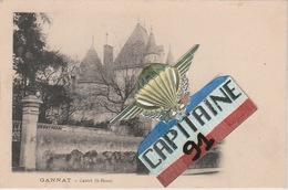 CPA GANNAT ALLIER CASTEL ST HENRI - France