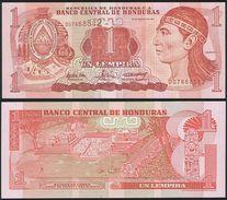 Honduras DEALER LOT ( 10 Pcs ) P 84 D - 1 Lempira 26 8 2004 - UNC - Honduras